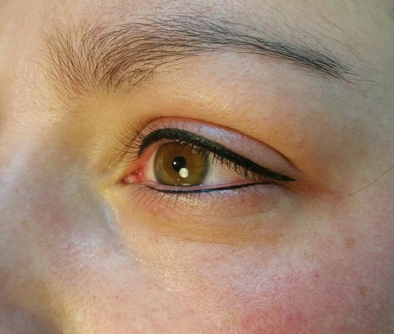 Eyeliner met Permanent Make-up na